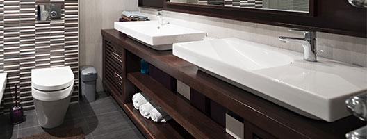 nieuwe badkamermeubel